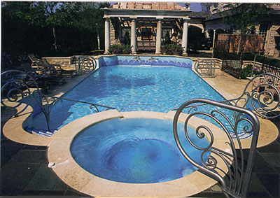 Fancy swimming pools home design elements for Fancy swimming pool designs