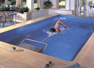What is a swim spa for Indoor lap pool cost