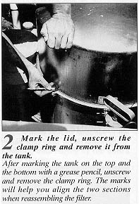 pool filter cleaning instructions
