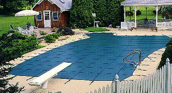 Loop Loc Safety Pool Covers Ultra Loc Solid Mesh W No