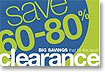 Clearance Center - Save Up To 90% Off