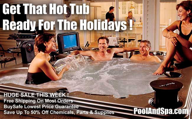 Get That Hot Tub Ready For The Holidays