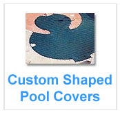 Custom Shaped Swimming Pool Covers