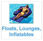 Floats, Lounges And Inflatables For Swimming Pools