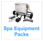 Hot Tub Spa Equipment Packs