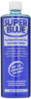 Super Blue Water Clarifier For Swimming Pools