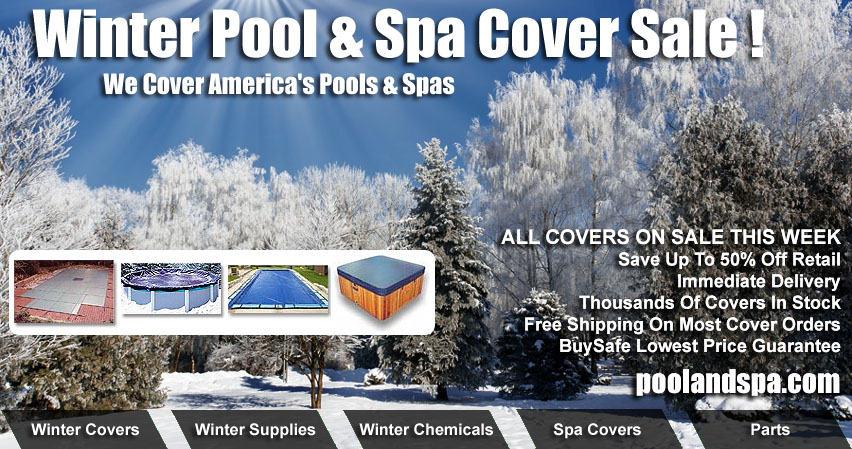Swimming Pool Covers And Hot Tub Covers On Sale At PoolAndSpa.com
