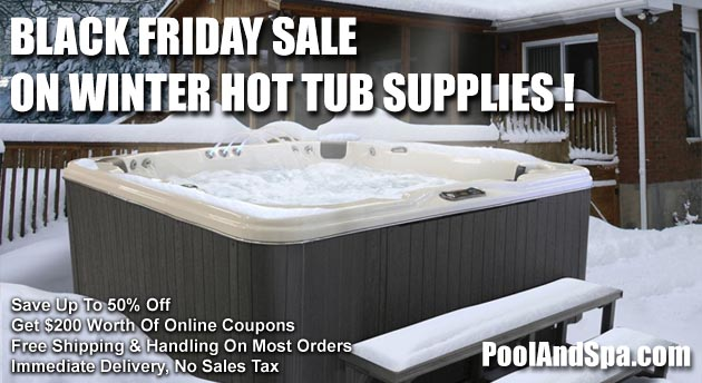Black Friday Specials On Winter Hot Tub Supplies