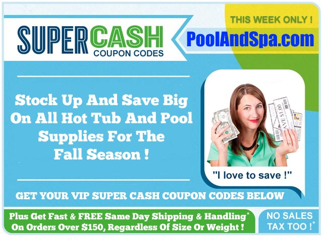 Discount pool kits coupon codes