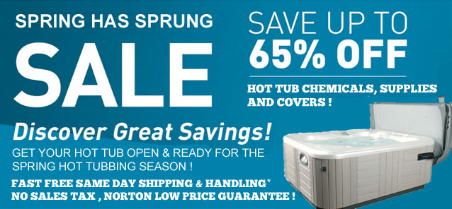 Get That Hot Tub Ready For The Spring Season!