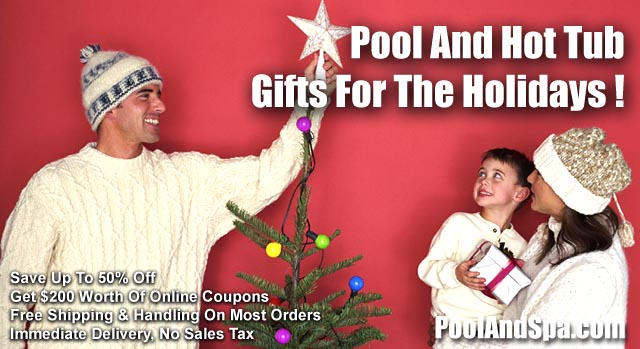 Holiday Gifts For Under $30 For Hot Tubs, Bath Tubs And Swimming Pools