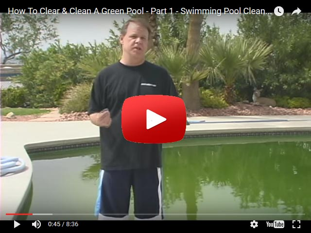 How To Clear And Clean A Green Pool - PoolAndSpa.com
