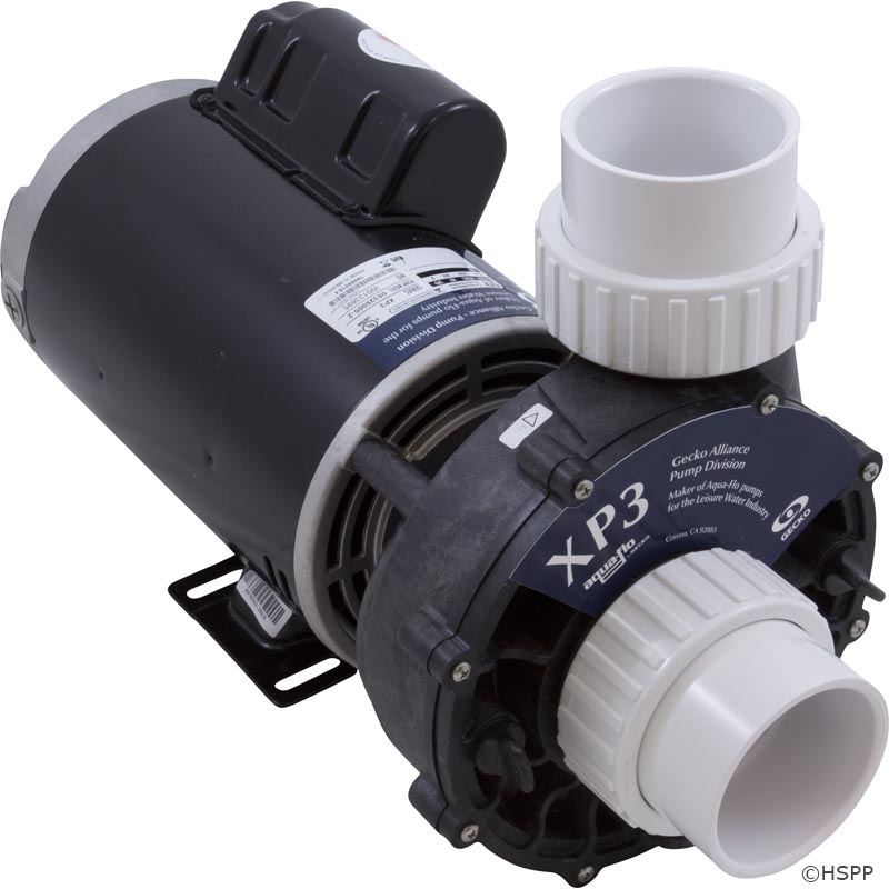 34-402-5300 - Hot Tub Pump Complete, Aqua Flo XP3, 2.5hp, 230v, 2-Spd, 56fr, 2-1/2 Inch , OEM - 08326000-2341 - 34-402-5300