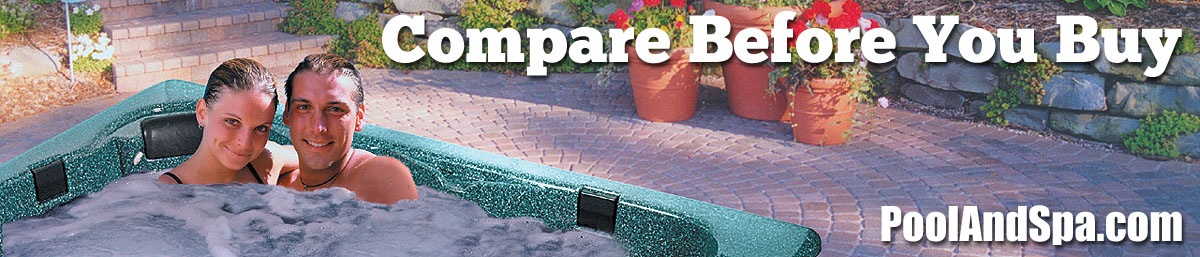 Hot Tub Spa Manufacturer's Comparison Chart - PoolAndSpa.com