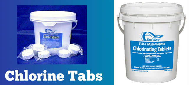 Chlorine Tabs And Pool Chemicals - PoolAndSpa.com