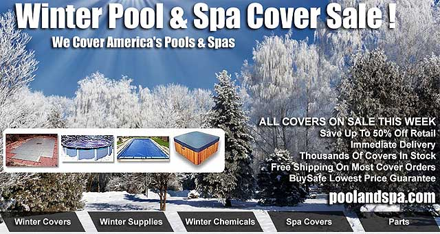 Winter Pool And Spa Covers & Supply Specials - PoolAndSpa.com