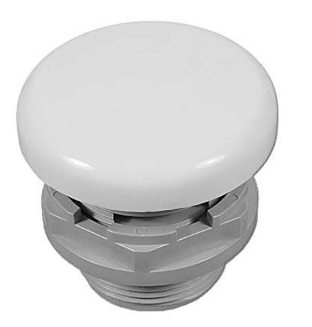 3560 - Air Control, G&G, Underskirt, 1 inch Smooth, White,1 Inch Plumb,1-3/4 Inch Hole - 3560