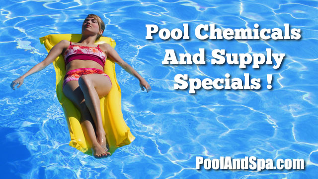 Pool Chemicals And Supply Specials