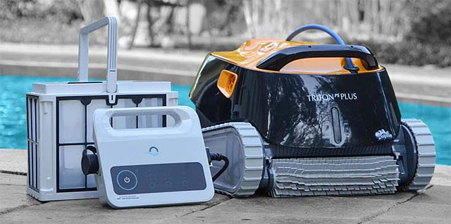 Automatic And Robotic Swimming Pool Vacuum Cleaners