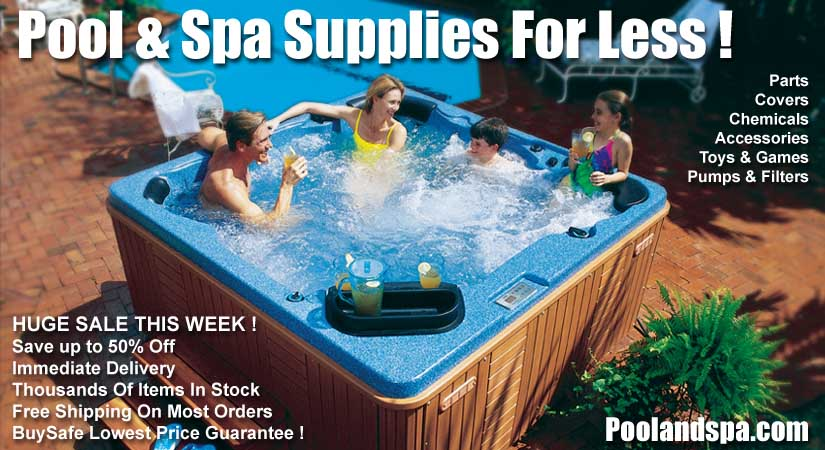 Online Store Hot Tub Spa Supplies Swimming Pool Supplies Parts Chemicals Covers