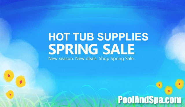 Spring Deals On All Hot Tub Supplies