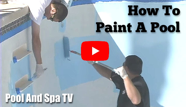 How To Acid Wash, Repair And Paint A Pool Video