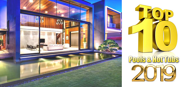2019 Top 10 Awards For Pools And Spas