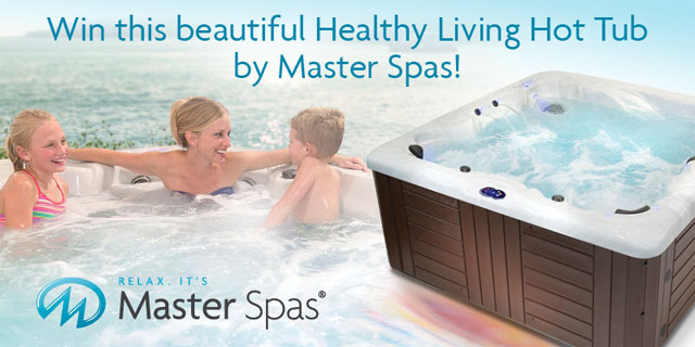 Enter Our New Healthy Living Hot Tub Contest