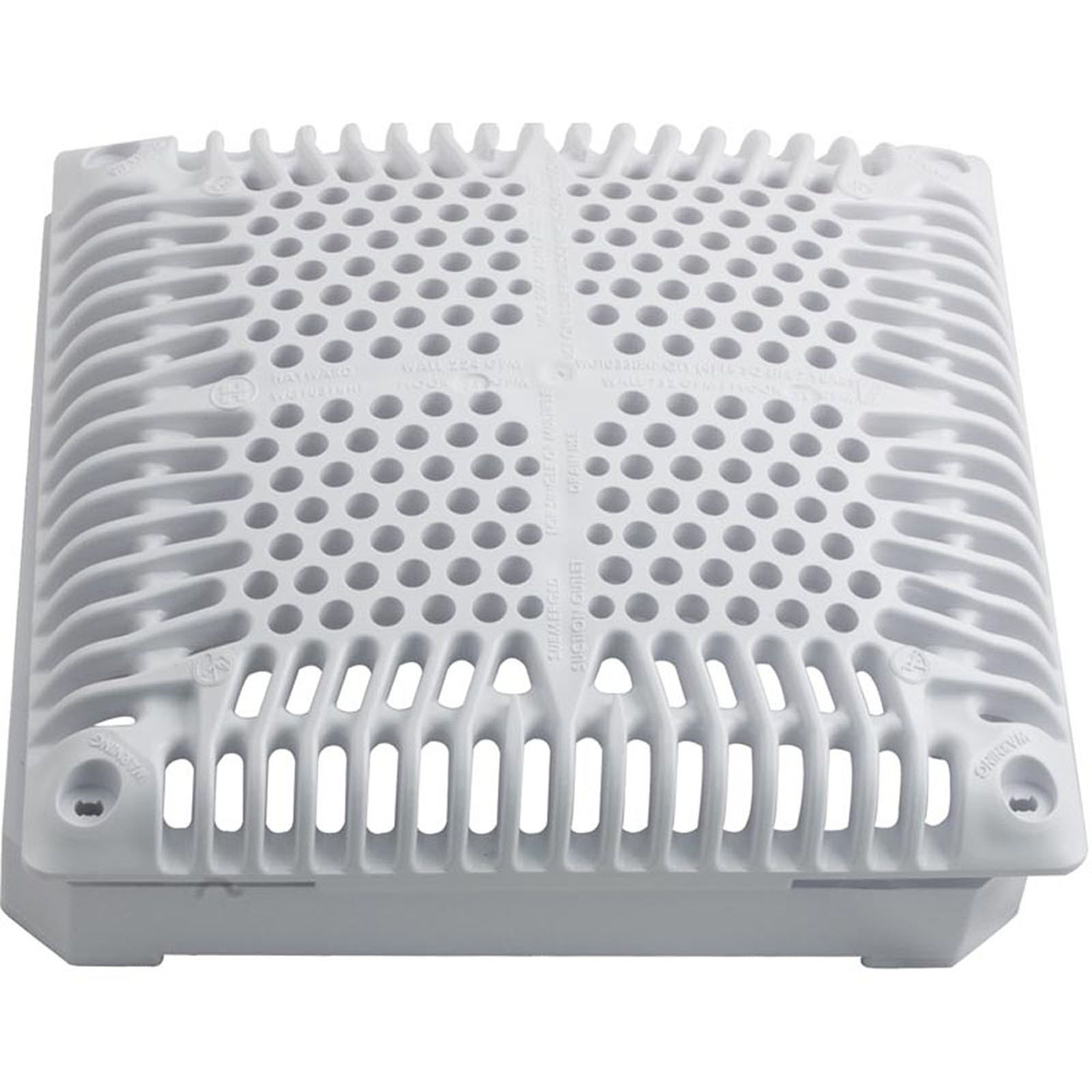 55-150-2182 - Main Drain Grate, Hayward 9 Inch x 9 Inch Square, with Frame - WGX1031BHF2 - 55-150-2182