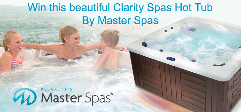 Win A Free $8000 Clarity Spas Hot Tub By Master Spas!