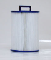 PMAX50P4 - Filter Cartridge - Maax Spas of Canada - Pleatco - UPC - 90164003474 - Height: 8  7/16 - Diameter: 5  3/4 - TopID: Handle - BottomID: 1 1/2 MPT - Misc: 5CH-35 - PMAX50P4