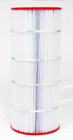 PAP100-4 - Filter Cartridge - Predator 100 - Pentair Clean & Clear 100 - R173215, 59054200 - Pleatco - UPC - 90164091006 - Height: 23  5/8 - Diameter: 10  1/16 - TopID: 6 - BottomID: 6 - Misc: C-9410 - PAP100-4