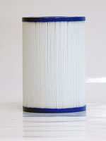 PFF25P4 - Filter Cartridge - Freeflow Lagas, CLX - FF-150 - Pleatco - UPC - 90164025629 - Height: 6  5/8 - Diameter: 4  5/8 - TopID: 2  1/8 - BottomID: 1 1/2 MPT - Misc: 4CH-22 - PFF25P4