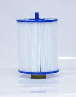 PAS40-F2M - Filter Cartridge - New Artesian 6 Inch D Spa Cartridge - Pleatco - UPC - 90164403601 - Height: 7  5/8 - Diameter: 6 - TopID: Handle - BottomID: 2 MPT - PAS40-F2M