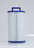 PDM25P4 - Filter Cartridge - Dream Maker Spas - Pleatco - UPC - 90164202549 - Height: 8  1/8 - Diameter: 4  3/4 - TopID: Handle - BottomID: 1 1/2 MPT - Misc: 4CH-24 - PDM25P4
