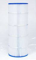 PA120 - Filter Cartridge - Hayward Star-Clear Plus C-1200 - CX-1200-RE, 25230-0125S - Pleatco - UPC - 90164012001 - Height: 23-1/4 - Diameter: 8-15/16 - TopID: 4 - BottomID: 4 - Misc: URET GASKET - PA120