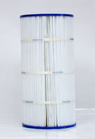 PA80-4 - Filter Cartridge - Hayward Star-Clear II C800 Star-Clear II C1500, open w/molded gasket - CX800-RE - Pleatco - UPC - 90164800042 - Height: 17  3/8 - Diameter: 8  1/2 - TopID: 4 - BottomID: 4 - Misc: C-8600 - PA80-4