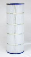 PA100-4 - Filter Cartridge - Hayward Star-Clear II C1100, open w/ molded gasket - CX1100-RE - Pleatco - UPC - 90164100241 - Height: 23  1/8 - Diameter: 8  1/2 - TopID: 4 - BottomID: 4 - Misc: C-8610 - PA100-4