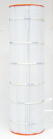 PSR137-4 - Filter Cartridge - Sta-Rite Posi-Flo II, PTM 135, 35 TX, 35 TXR, open w/12 concentric slots - WC108-70S2X - Pleatco - UPC - 90164137001 - Height: 31  1/4 - Diameter: 8 11/16 - TopID: 4  3/16 - BottomID: 4  3/16 - Misc: UHD-SR137 - PSR137-4